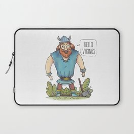 Hello Viking Laptop Sleeve
