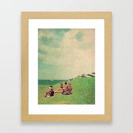 The Sun Forgot Us Framed Art Print