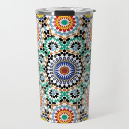 Morocco Tiles Travel Mug