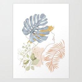 Line in Nature III Art Print