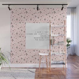 I have a deeply hidden desire - V. Woolf Collection Wall Mural