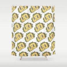 Taco Buddy Shower Curtain