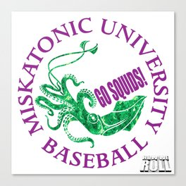 Miskatonic University Baseball Team Canvas Print