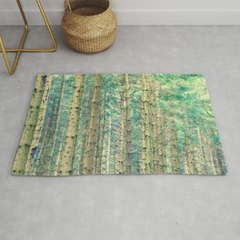 Locked in The Woods #society6 Rug