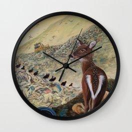 Land Unfulfilled Wall Clock
