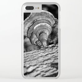 Shells of Trees Clear iPhone Case