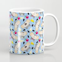 mouse Mugs featuring mouse by Tanya Pligina