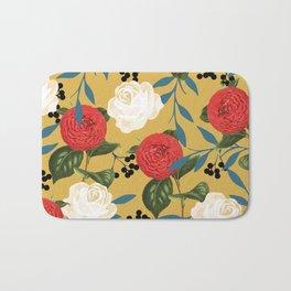 Floral Obsession #society6 #pattern #buyart Bath Mat