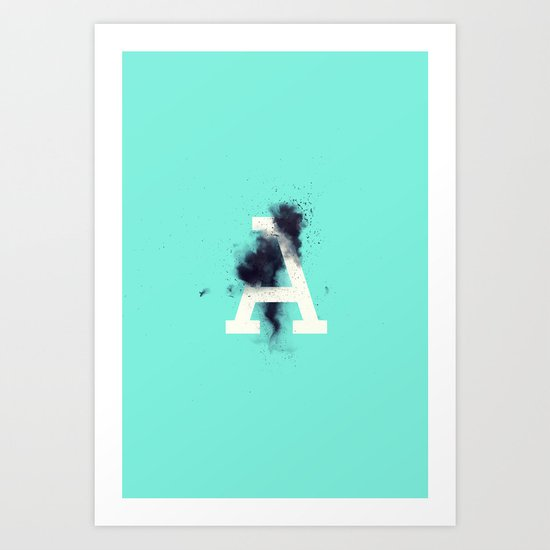 A is for Entropy Art Print