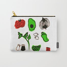 Let's Give Them Something to Guac About Carry-All Pouch