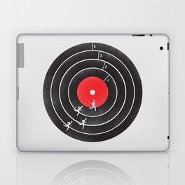 Vinyl Running Laptop & iPad Skin