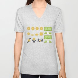 In Love With Wealth Unisex V-Neck