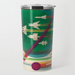 NASA Visions of the Future - The Grand Tour, a Once in a Lifetime Getaway Travel Mug