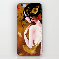 copper iPhone & iPod Skins featuring Copper by Sybile Art