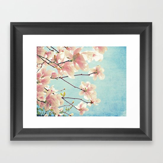 Spring In Pink Framed Art Print