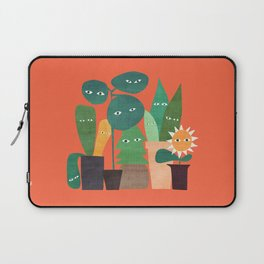 The plants are watching (paranoidos maximucho) Laptop Sleeve