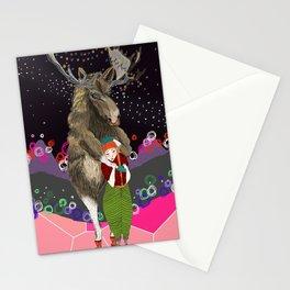 warm hug Stationery Cards