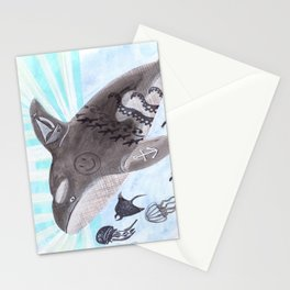 Killer Whale Ishmael Stationery Cards