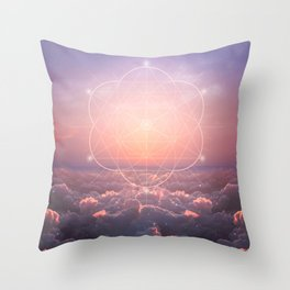 The Sun is but a Morning Star Throw Pillow