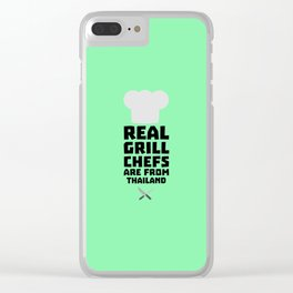 Real Grill Chefs are from Thailand T-Shirt Df9gv Clear iPhone Case
