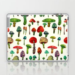 Mushrooms in the white Laptop & iPad Skin