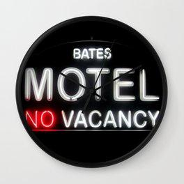 Bates motel Wall Clock
