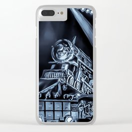 Runaway Train - Graphic 3 Clear iPhone Case
