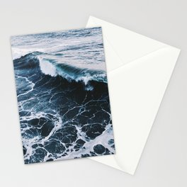 Marble Ocean Stationery Cards