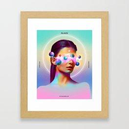 CENTERED Framed Art Print
