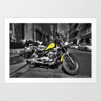 moto Art Prints featuring Moto Guzzi by Rob Hawkins Photography