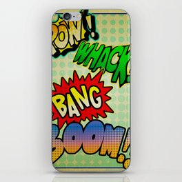 Comic Sounds iPhone Skin
