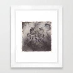 Greasy Bones. Framed Art Print