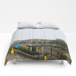 Philadelphia Steps Comforters