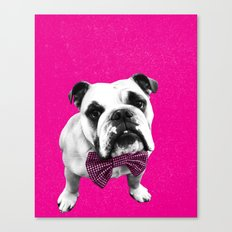 Pink Bowser Canvas Print