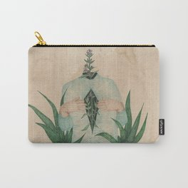 Hyssop and Aloe Vera Carry-All Pouch