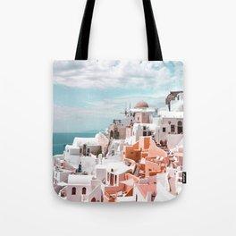 Santorini, Oia Tote Bag