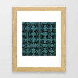 Mirrored Fish Framed Art Print