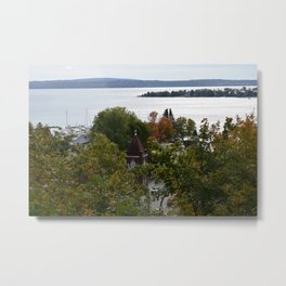 Harbor Srings Bay- View from Bluff(2) Metal Print