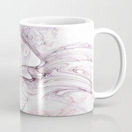 Swimming Birds Fractal Coffee Mug