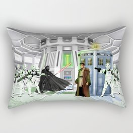 10th Doctor lost in the Galaxy far far away iPhone, ipod, ipad, pillow case and tshirt Rectangular Pillow