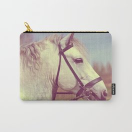 Percheron Horse Portrait  Carry-All Pouch