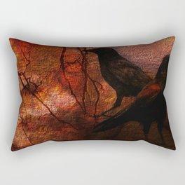 RAVENS WORLD edited Rectangular Pillow
