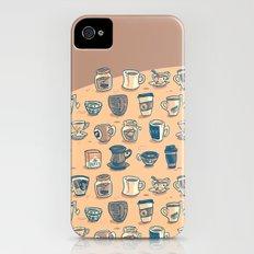 Coffee & Tea & Butts Slim Case iPhone (4, 4s)