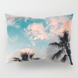 Cloud and palm Pillow Sham