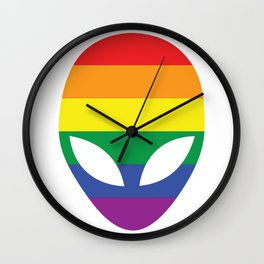 From the Same Planet Wall Clock