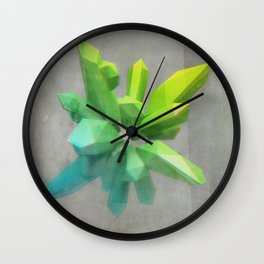 Anaglyph // Kryptonite Wall Clock
