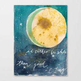 Jungian Moon Canvas Print