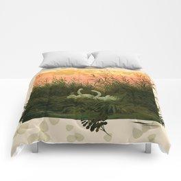 Swan Pair Comforters