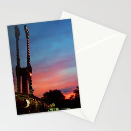 Fire over the Midway Stationery Cards