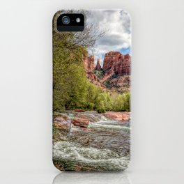 Cathedral Rock, AZ iPhone Case
